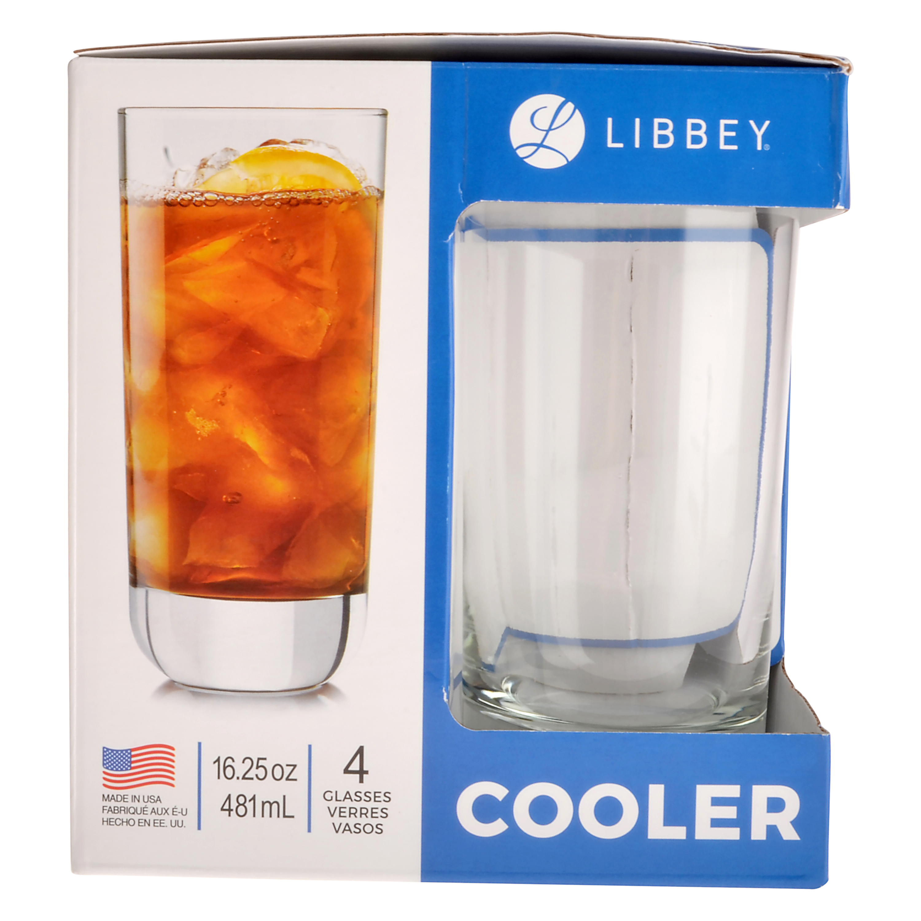 Libbey Cooler Glasses 4 pack by Libbey Glass Inc.