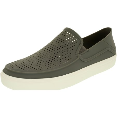 9c932fb54 Crocs - Men s Citilane Roka Ankle-High Rubber Flat Shoe - Walmart.com