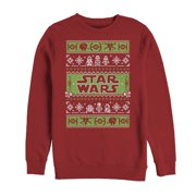 Star Wars Men's Ugly Christmas Sweater Come to the Merry Side Sweatshirt
