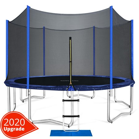 ORCC 12FT Kids Trampoline, TÜV Certificated Yard Trampoline with all Accessories