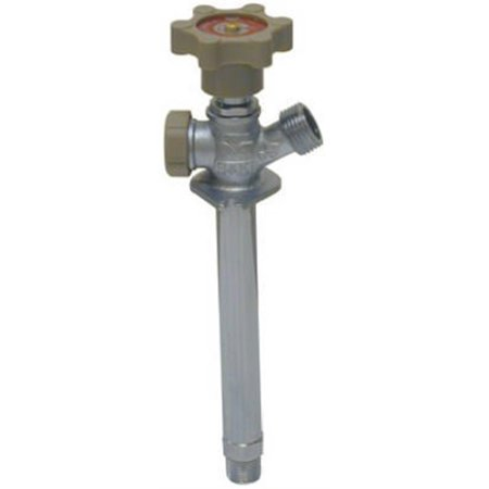 LEGEND VALVE AND FITTING INC Sillcock, Anti-Siphon, Frost-Free, Quarter-Turn, 1/2 x 6-In.