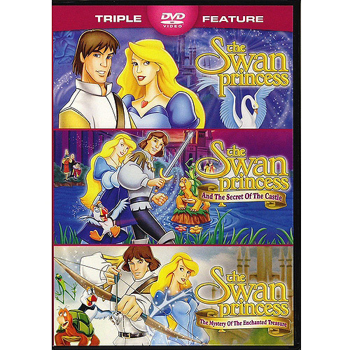 The Swan Princess / The Swan Princess And The Secret Of The Castle / The Swan Princess: The Mystery Of The Enchanted Treasure (Widescreen)