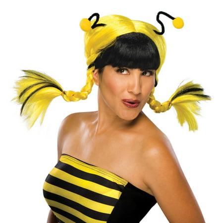 yellow bee mine wig for bumblebee halloween costume - Bee Halloween