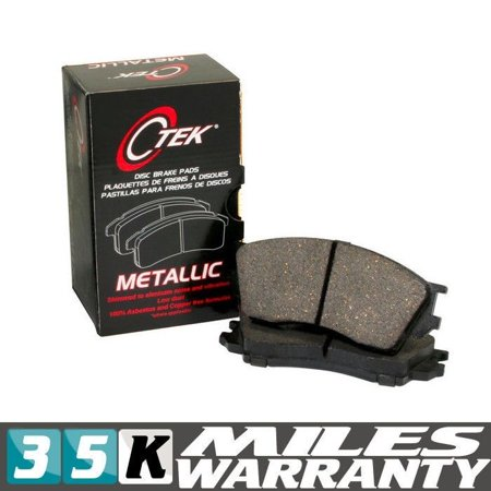 NEW 102.05980 COMPLETE SET FRONT BRAKE PAD CENTRIC FITS FORD TAURUS SHO METALLIC