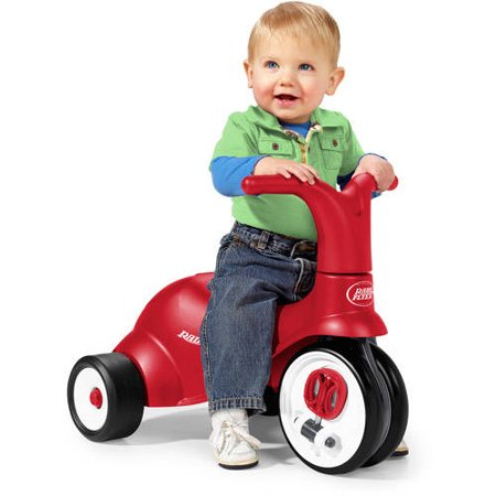 Radio Flyer Scoot 2 Pedal 2 In 1 Ride On Trike Walmart Com