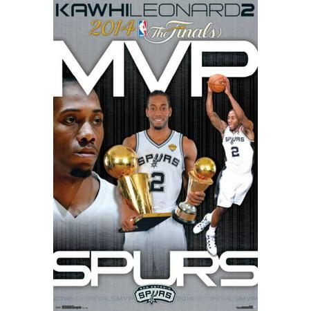 2014 NBA Finals - MVP Poster - 22x34 (2014 Sonnenbrillen Trends)