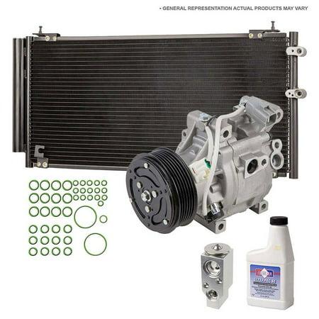 AC Compressor W AC Condenser Repair Kit For Acura TSX - 2004 acura tsx ac compressor