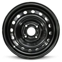 "Road Ready Replacement 15"" Black Steel Wheel Rim For 1998-2002 Honda Accord"