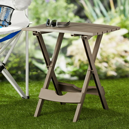 Adams Manufacturing Quik-Fold Compact Side Table