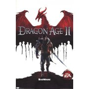 Dragon Age 2 - Game Cover Poster Print