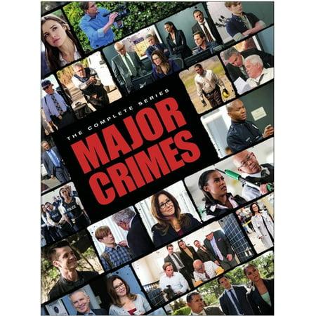 Major Crimes: The Complete Series (DVD) (Best Crime Drama Thriller Tv Series)