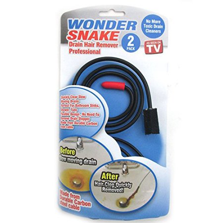 Wonder Snake Drain Hair Remover Kit as Seen on TV + 30% Off!