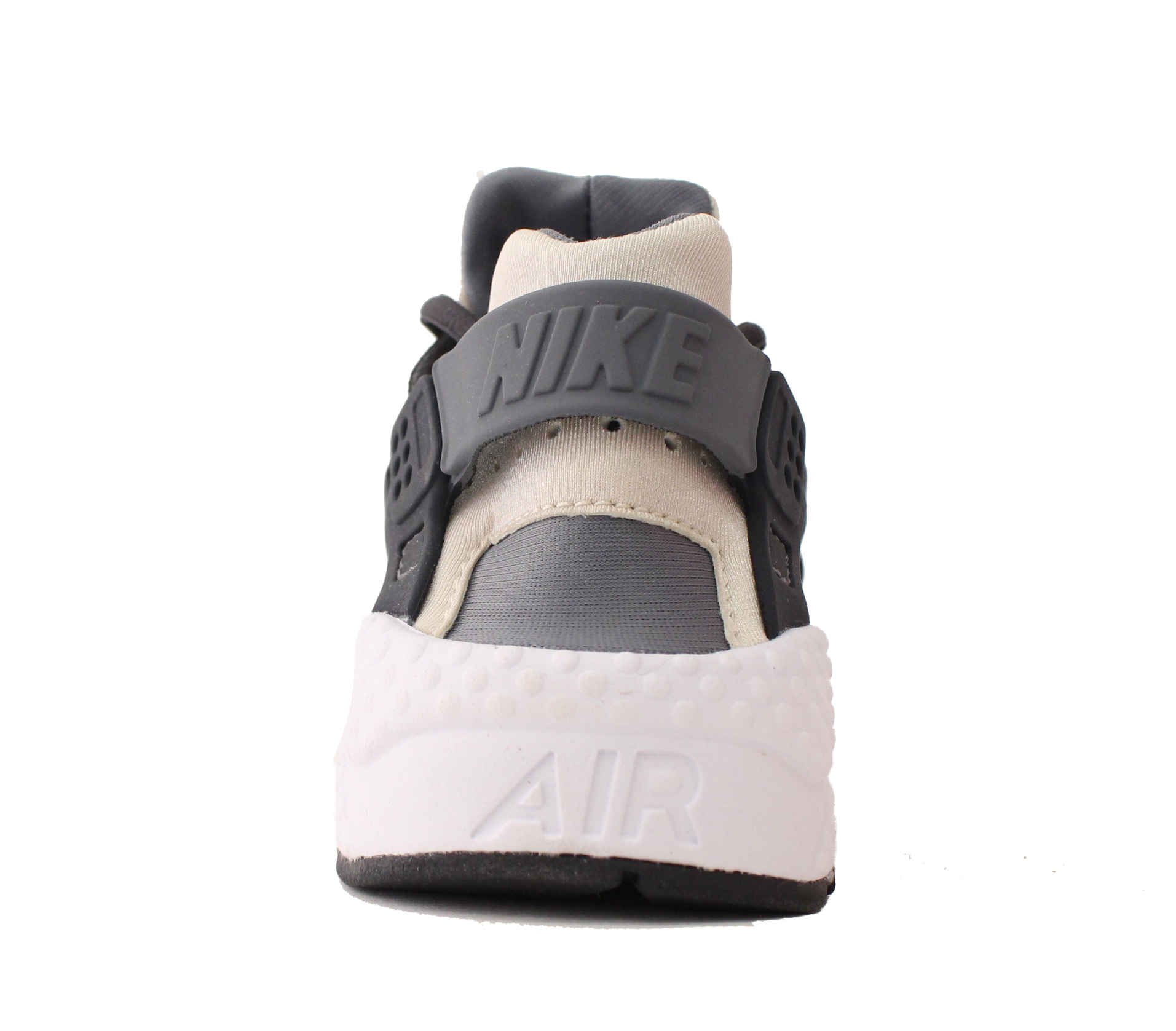 NIKE WOMENS AIR HUARACHE RUN SZ 6 ANTHRACITE 019 OATMEAL COOL GREY 634835 019 ANTHRACITE 32105b