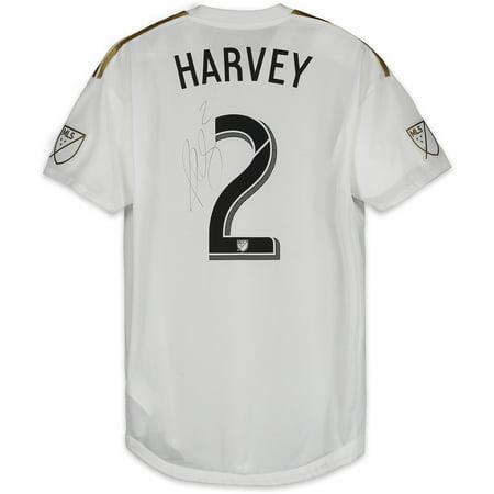 brand new c7e3f 6bed3 Jordan Harvey LAFC Autographed Match-Used White #2 Jersey vs. Colorado  Rapids on October 6, 2018 - Fanatics Authentic Certified - Walmart.com