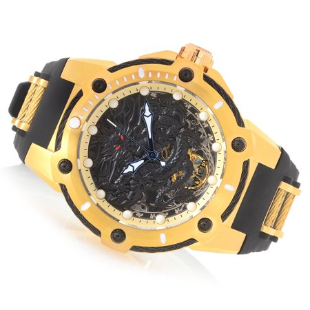 Invicta Men's 52mm Bolt Dragon Mechanical Silicone Strap Watch -