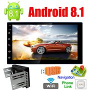 Best Car Navigations - Android 8.1 Universal Car Multimedia MP5 Player GPS Review