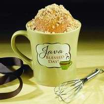 Image of Mug-My Cup Runneth Over-Java Blessed Day/Coffee Cake Mug