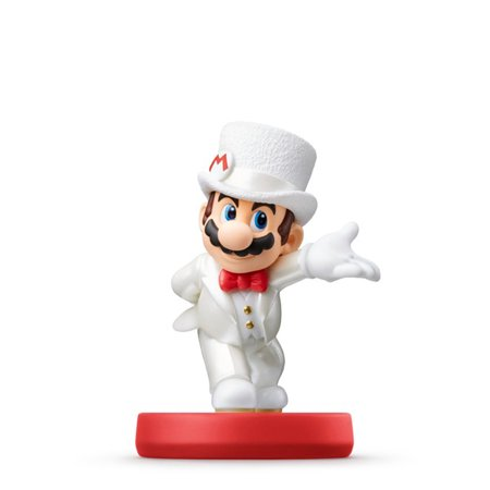 Nintendo Mario Wedding Outfit Super Mario Odyssey Series amiibo
