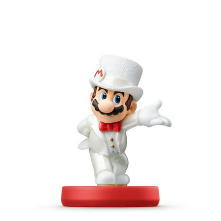 Nintendo Super Mario Odyssey Series Amiibo Mario Wedding Outfit