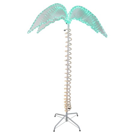 Northlight Palm Tree Rope Light Outdoor Yard Decoration