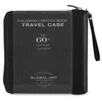 Global Canvas Coloring Case - Rose, Large