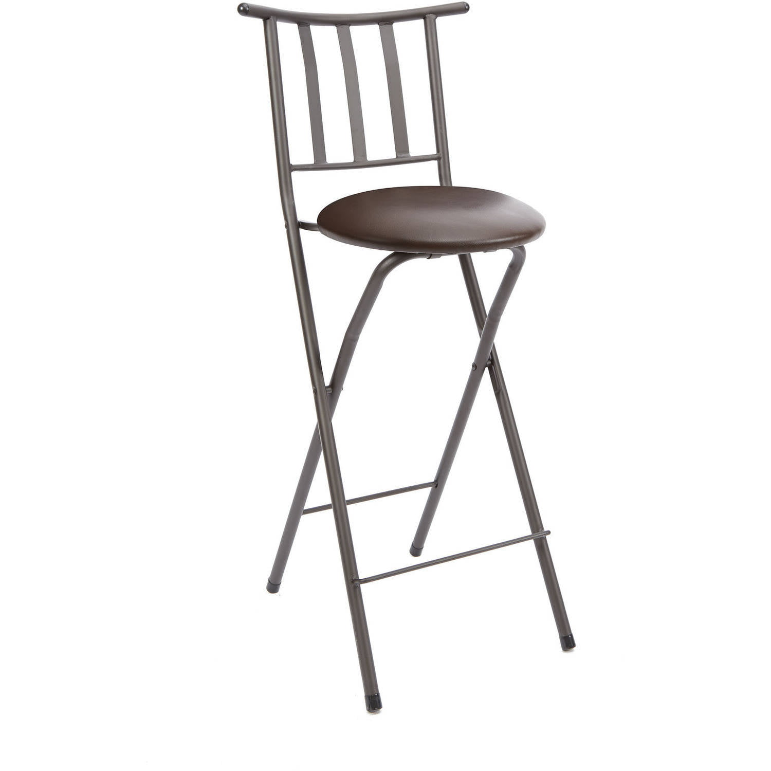 Excellent Mainstays Slat Back Folding 30 Bronze Bar Stool Multiple Colors Ocoug Best Dining Table And Chair Ideas Images Ocougorg