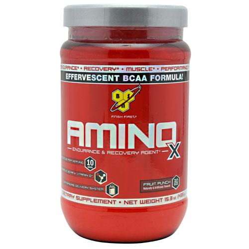 BSN AMINO X - Fruit Punch, 15.3 Ounce, 30 Servings