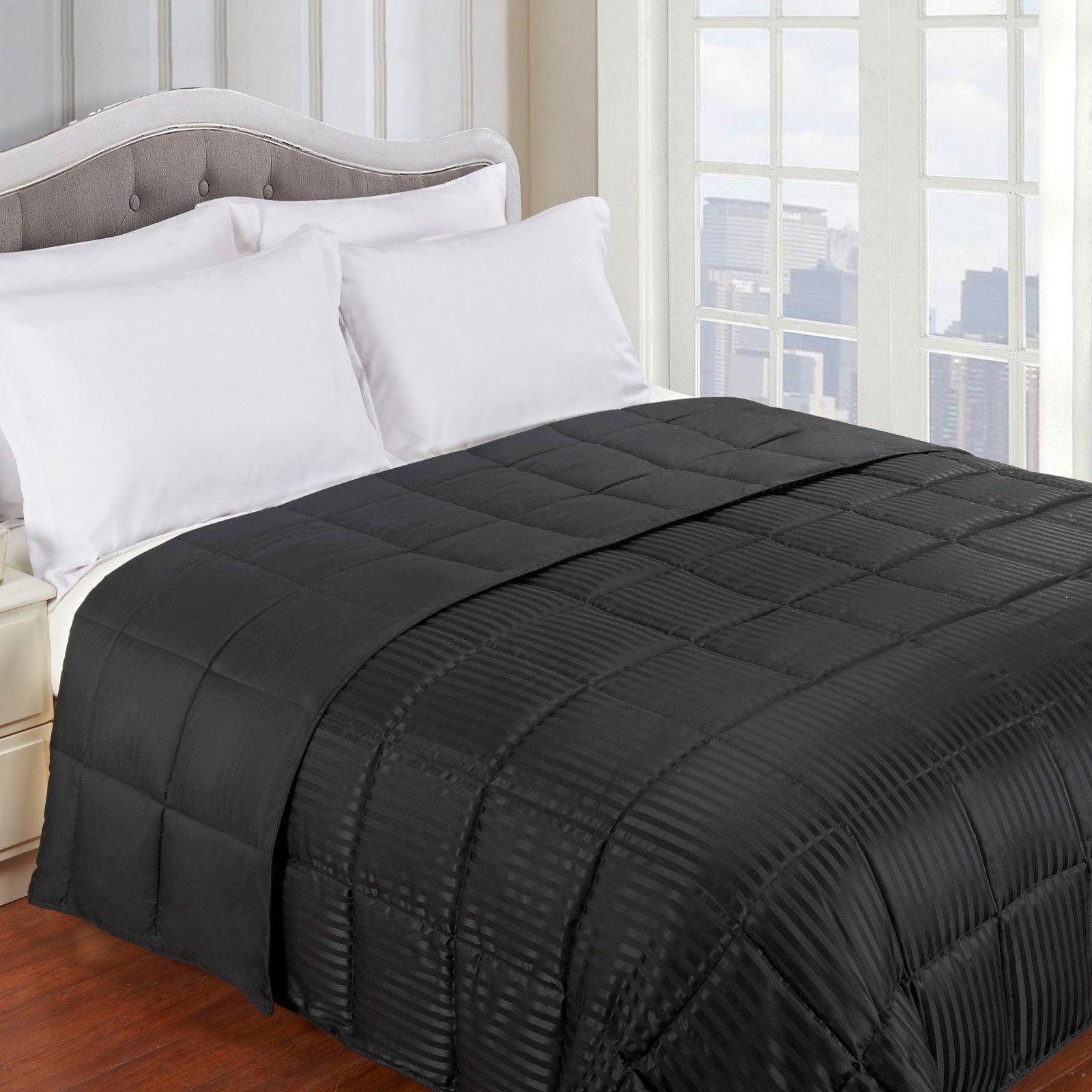 Lightweight All-season Down Alternative Reversible Blanket by Home City Inc