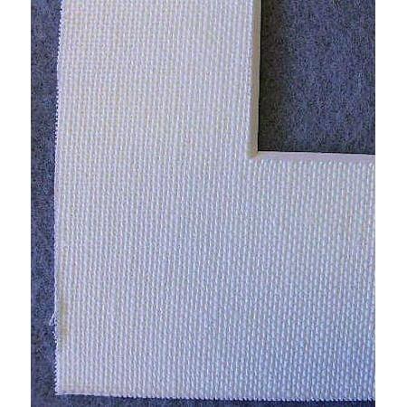 Warm White Acid Free Linen Picture Frame Mat 8x10