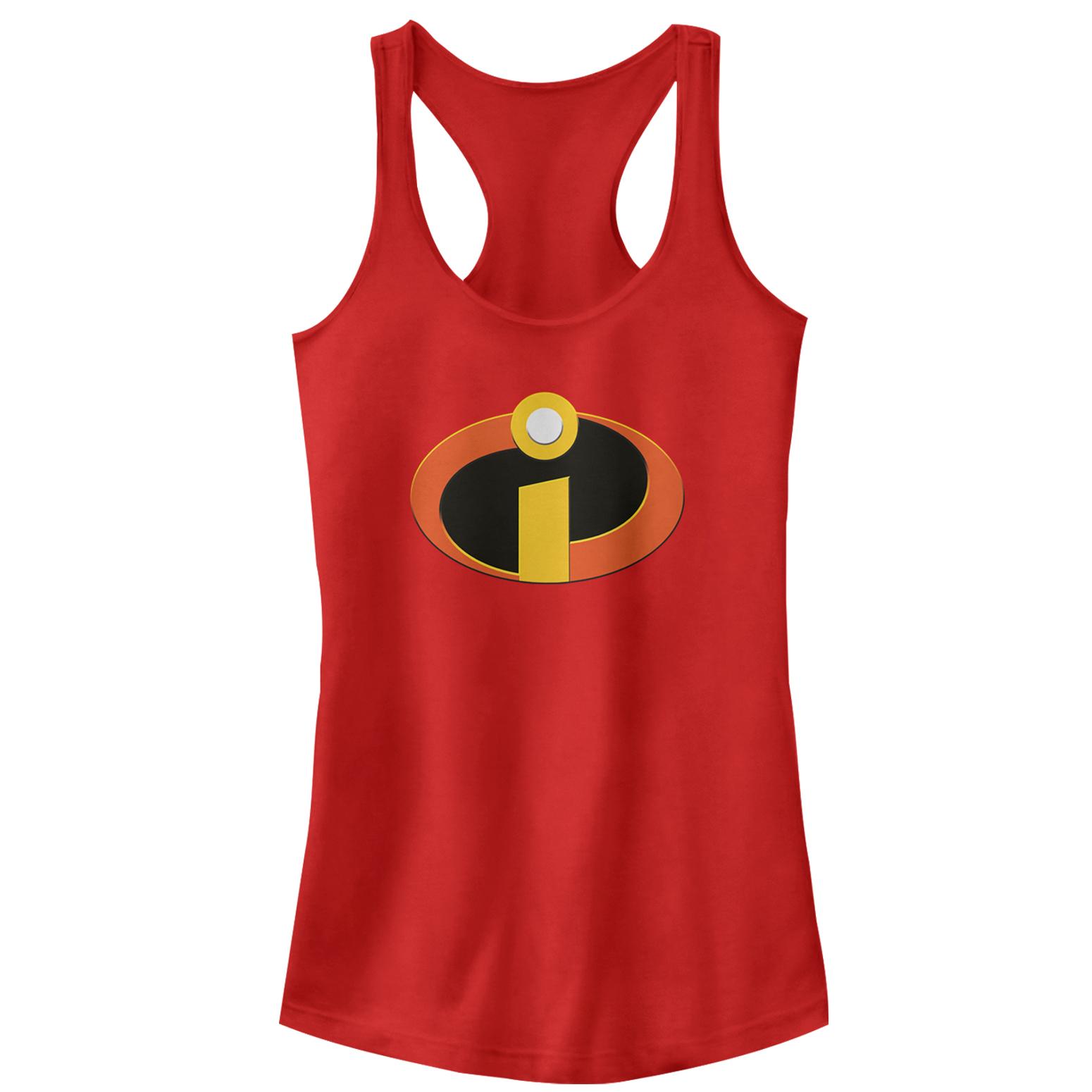 The Incredibles Juniors' Classic Logo Racerback Tank Top