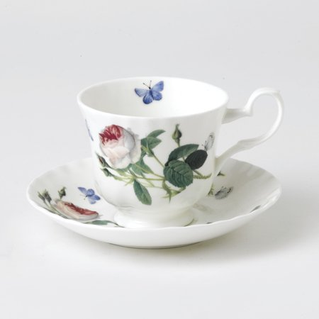 Roy Kirkham Teacup and Saucer (230 ml) Set of 2 - Palace Garden ()