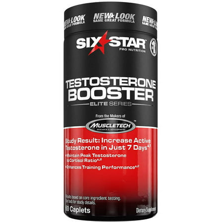 Six Star Pro Nutrition Testosterone Booster Capsules, 60 (Best Testosterone For Cutting Cycle)
