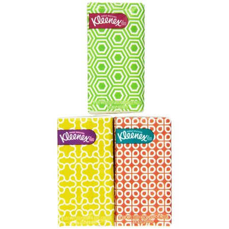 Kleenex® 3-Ply Pocket Packs Facial Tissues (8 Packs) 8.0 count
