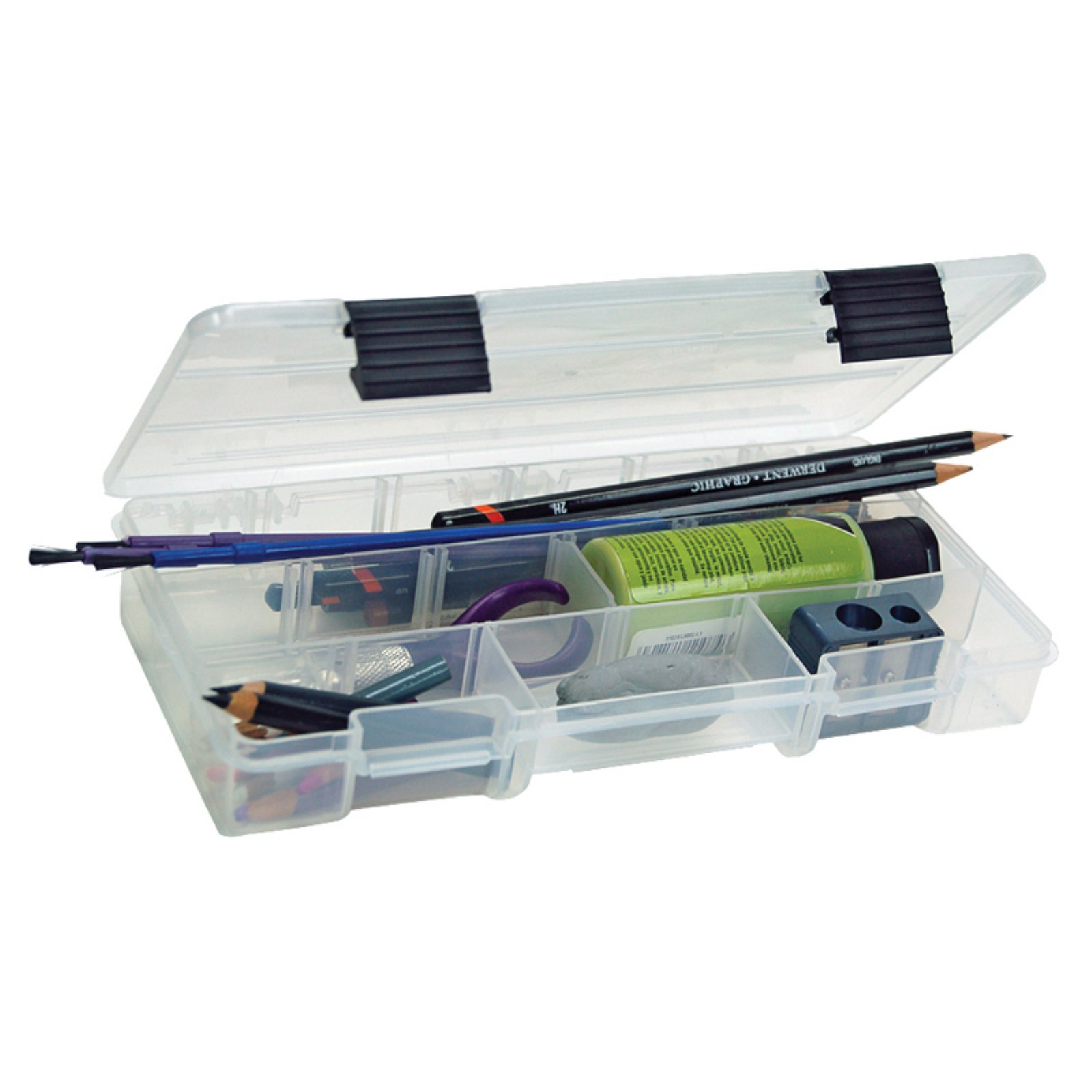 Creative Options Pro Latch Utility Box, Clear with Black Latch