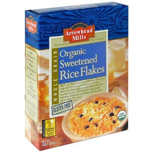 Arrowhead Mills 52024 Rice Flakes Sweetened Cereal
