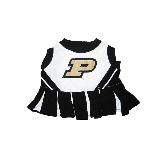 Pets First Purdue University Pet Dog Cheer Leading Sports Outfit Medium