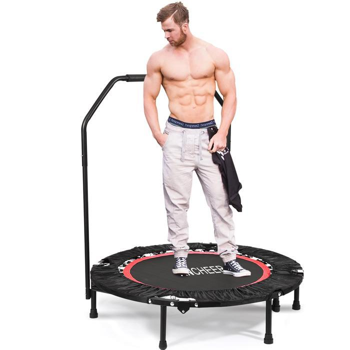 "Fitness Workout Adjustable Angle 40"" Mini Rebounder"