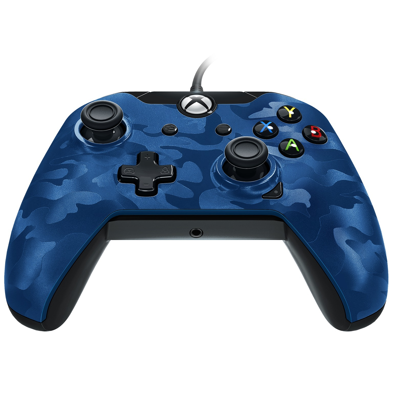PDP Xbox One, Stealth Series Wired Controller, Revenant Blue, 048-082-NA-CM02
