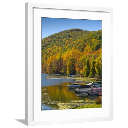 Lake Candlewood, Connecticut, New England, United States of America, North America Framed Print Wall Art By Alan