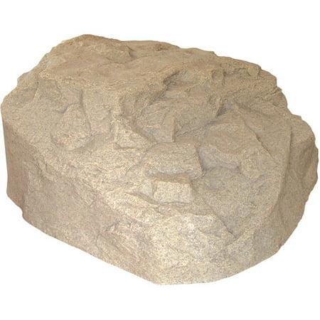 Emsco Group 2270 1 Low Profile Boulder Concealer Statuary Rock  14H X 35W X 32L  Sand