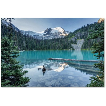Trademark Fine Art 'Natural Beautiful British Columbia' Canvas Art by Pierre Leclerc (Natural Canvas)