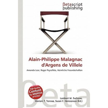 Alain Philippe Malagnac Dargens De Villele
