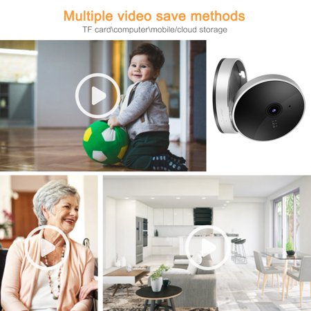 Herwey 1080P Smart WiFi Camera Network Surveillance Cube Camera Security Monitor, 1080P Cube Camera, Surveillance Cube Camera - image 3 of 8