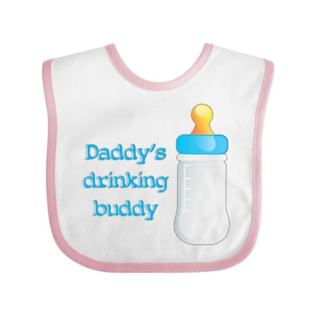 Daddy s drinking buddy boy Baby Bib