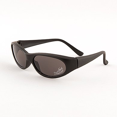 Black Just Married Sun Glasses