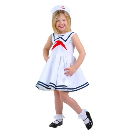 Sailor Girls Toddler Costume - Girls Sailor Costume