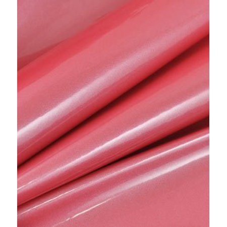 Pink Patent Leather Vinyl Fabric - by the Yard By Online Fabric ...