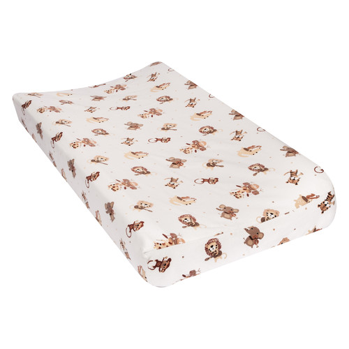 Harriet Bee Treadway Safari Rock Band Deluxe Flannel Changing Pad Cover