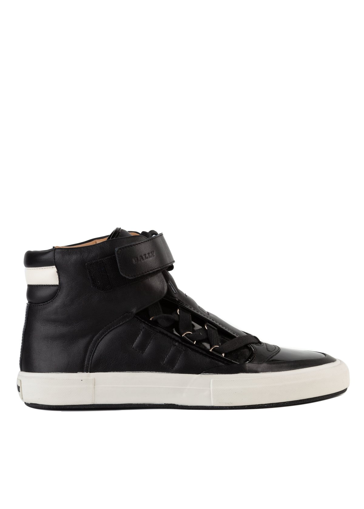 mens all black leather sneakers