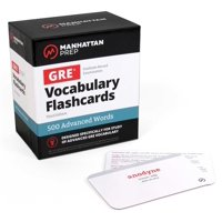 500 Advanced Words: GRE Vocabulary Flashcards